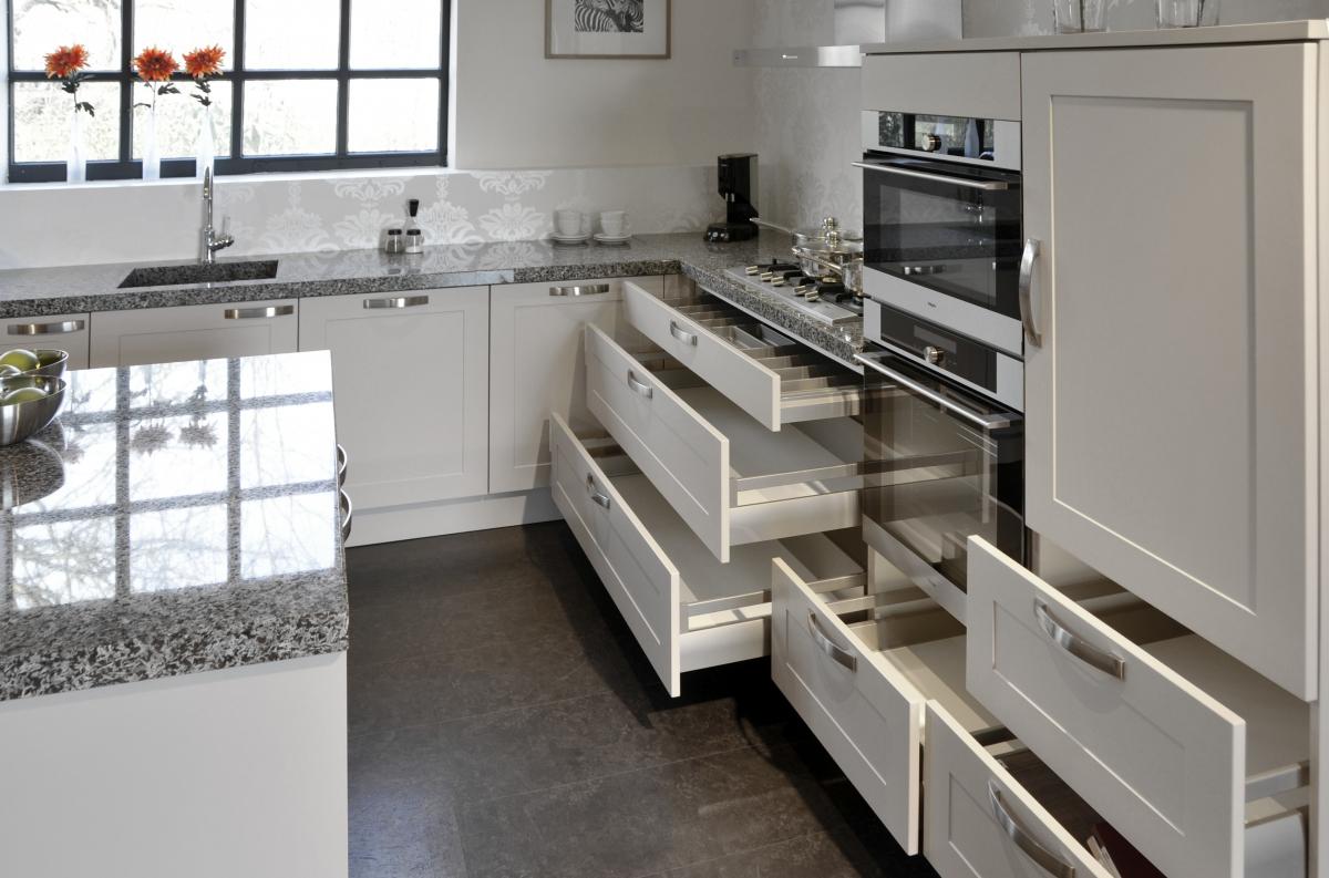 Showroom keukens: Häcker Lotus kashmir