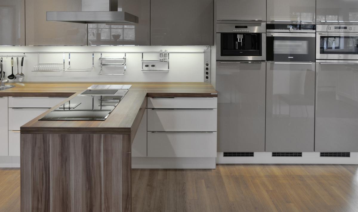 showroom keukens nolte nova lack. Black Bedroom Furniture Sets. Home Design Ideas